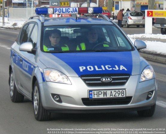 Policja Kalisz: Policjanci uratowali człowieka